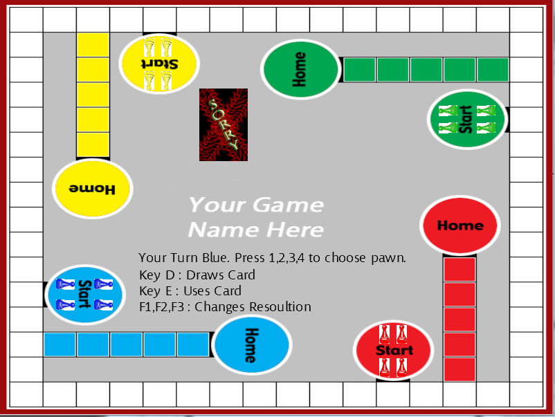 Printable Board Game Template Image collections - template design ...